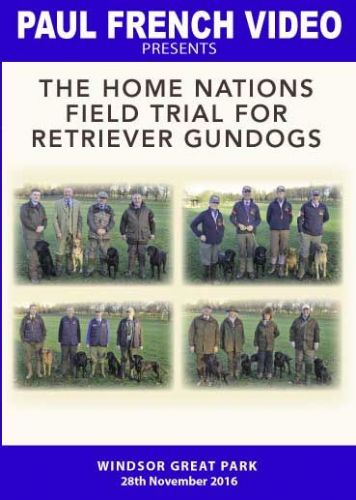 The Home Nations Field Trial for Retriever Gundogs - 2016